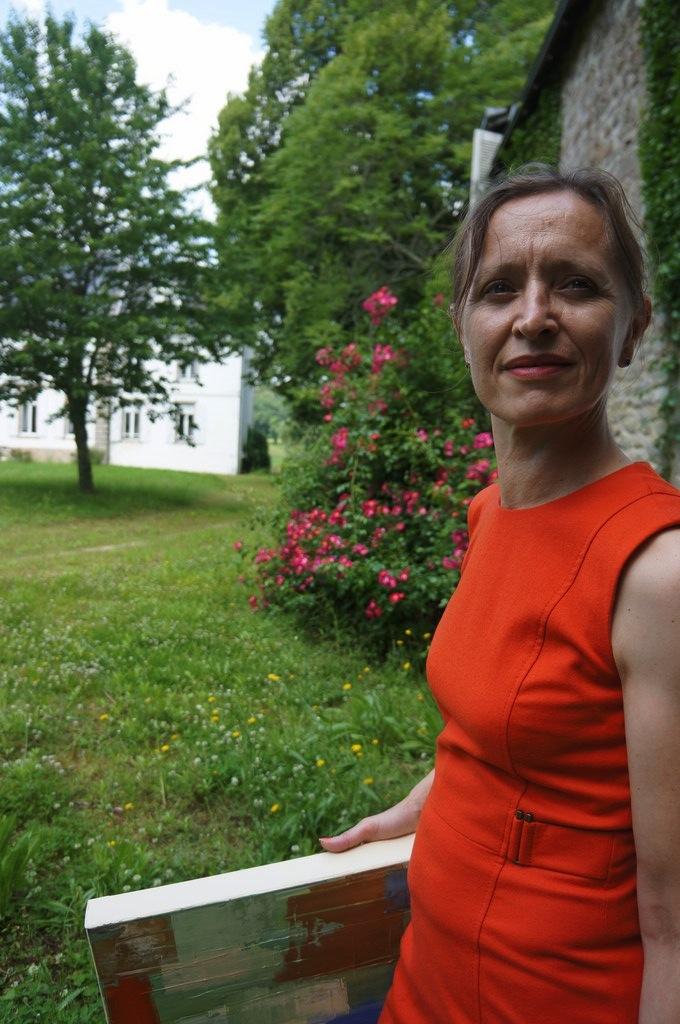Priscille tableau BAMBOU parc chateau XVIII