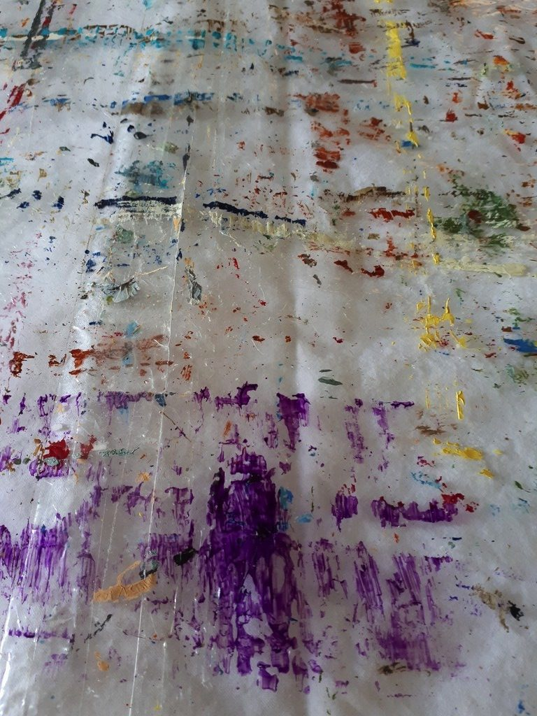 Priscille's painting workshop: tablecloth
