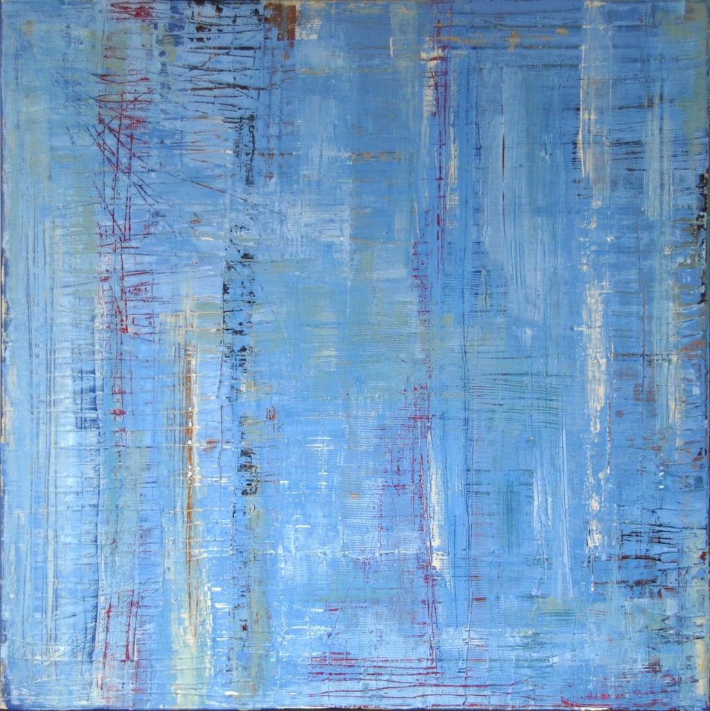 PARTITION - Acrylique sur toile coton 60 x 60 cm - 2016