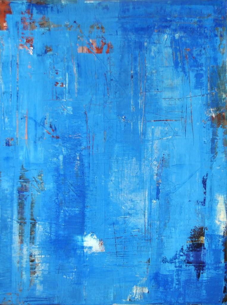 PROMESSE - Acrylique sur toile coton 80 x 60 cm - 2017