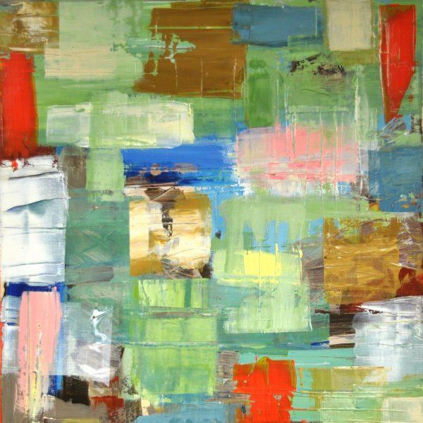 BAMBOO - Acrylic on cotton canvas 23.6